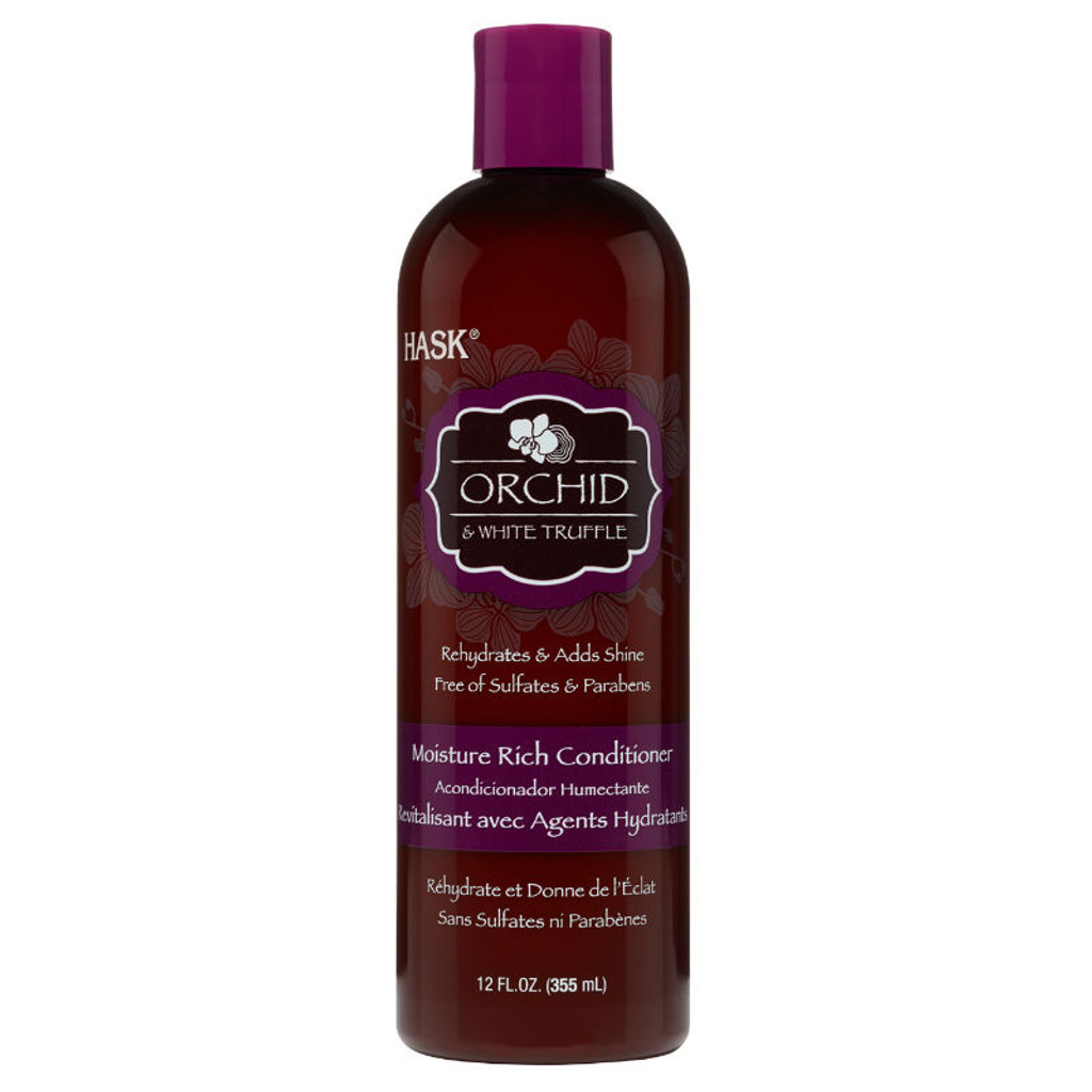 HASK Orchid & White Truffle Moisture Rich Conditioner (12 oz.)