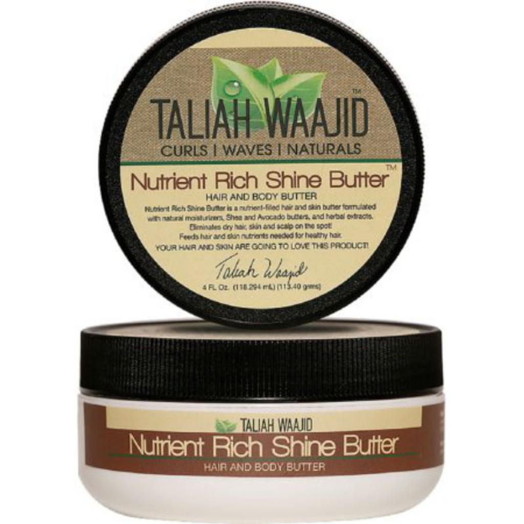 Taliah Waajid Curls, Waves, & Naturals Nutrient Rich Shine Butter (4 oz.)