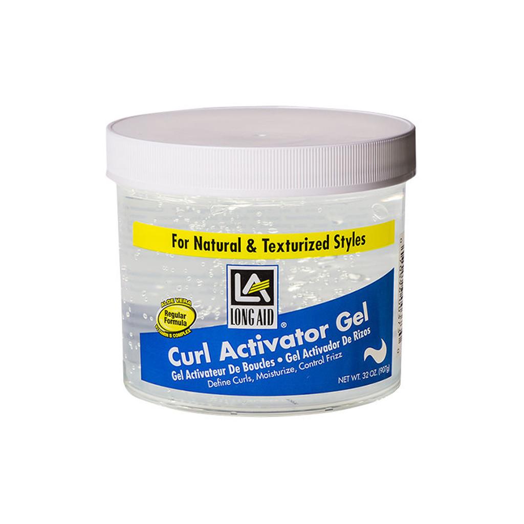 LONG AID Curl Activator Gel Regular Formula (32 oz.)