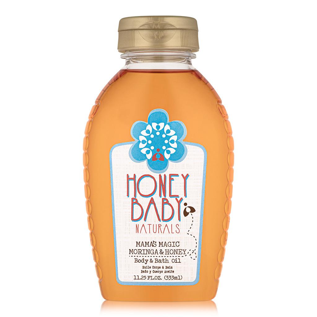 Honey Baby Naturals Mama's Magic Moringa & Honey Body & Bath Oil (11.25 oz.)