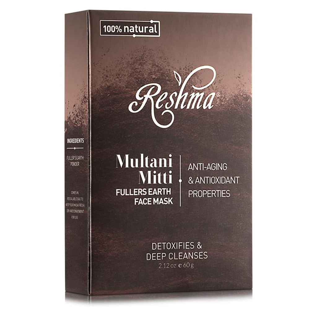 Reshma Beauty Multani Mitti Fullers Earth Face Mask (2.12 oz.)