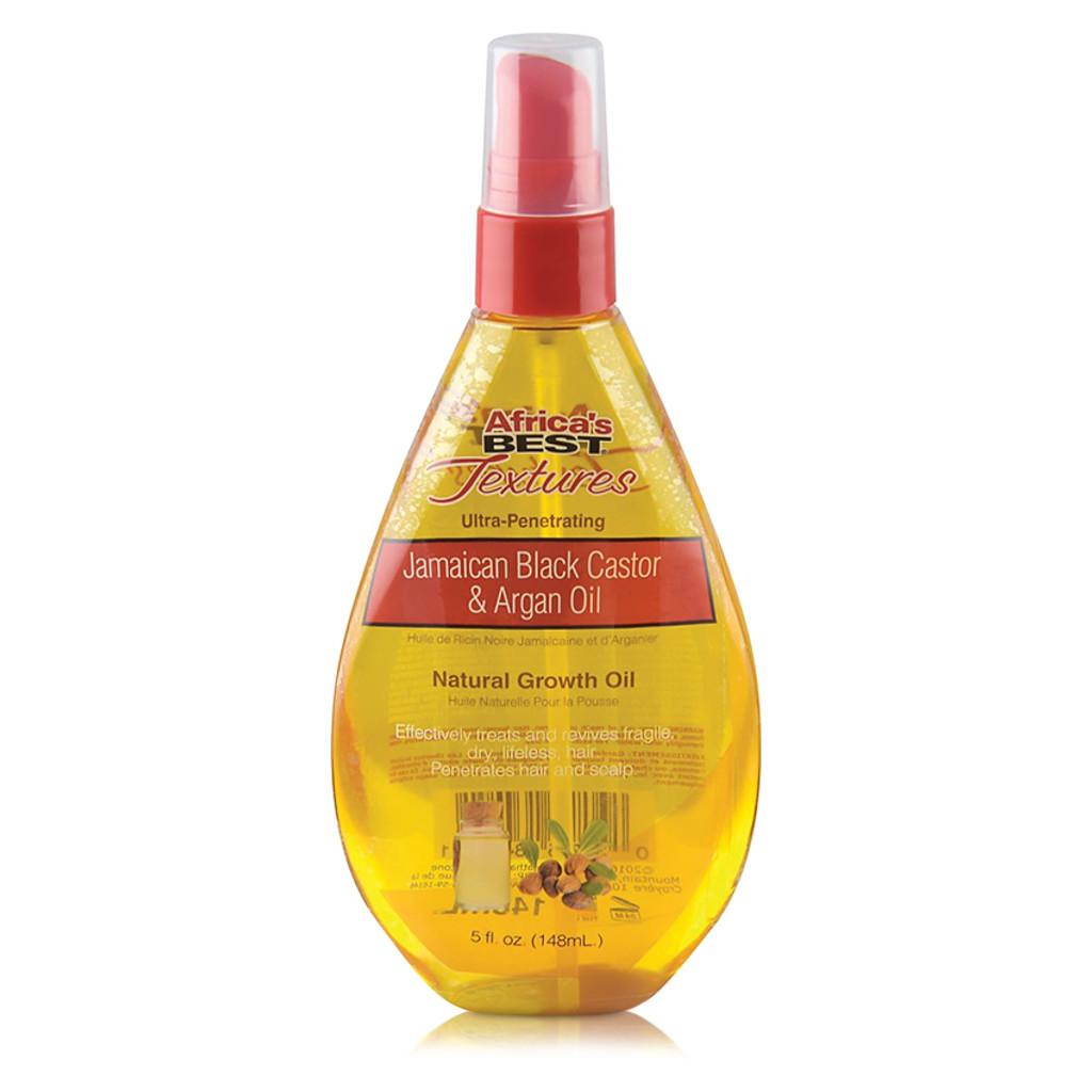 Africa's Best Textures Jamaican Black Castor & Argan Oil Natural Growth Oil (5 oz.)