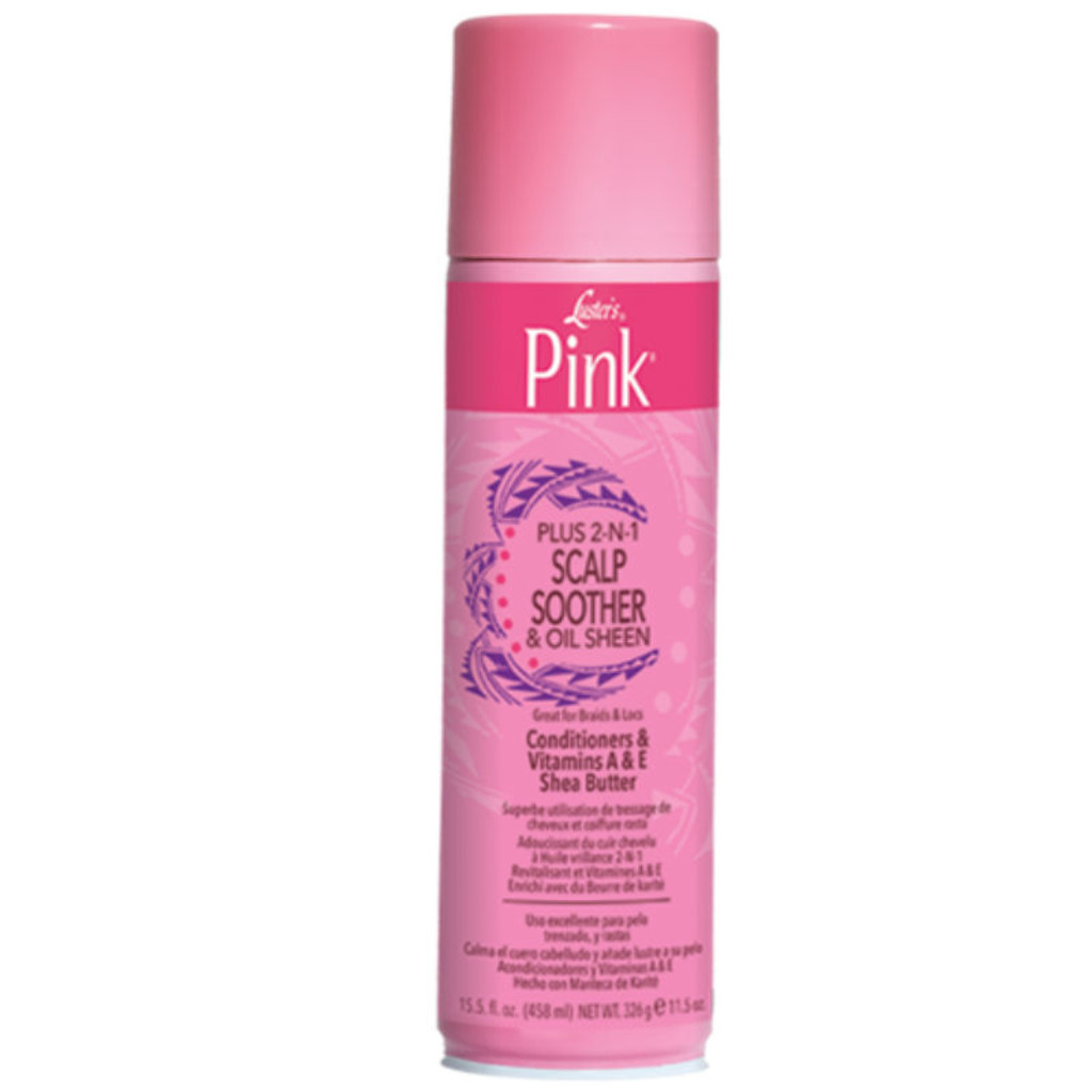 Luster's Pink Plus 2-N-1 Scalp Soother & Sheen Spray (15.5 oz.)