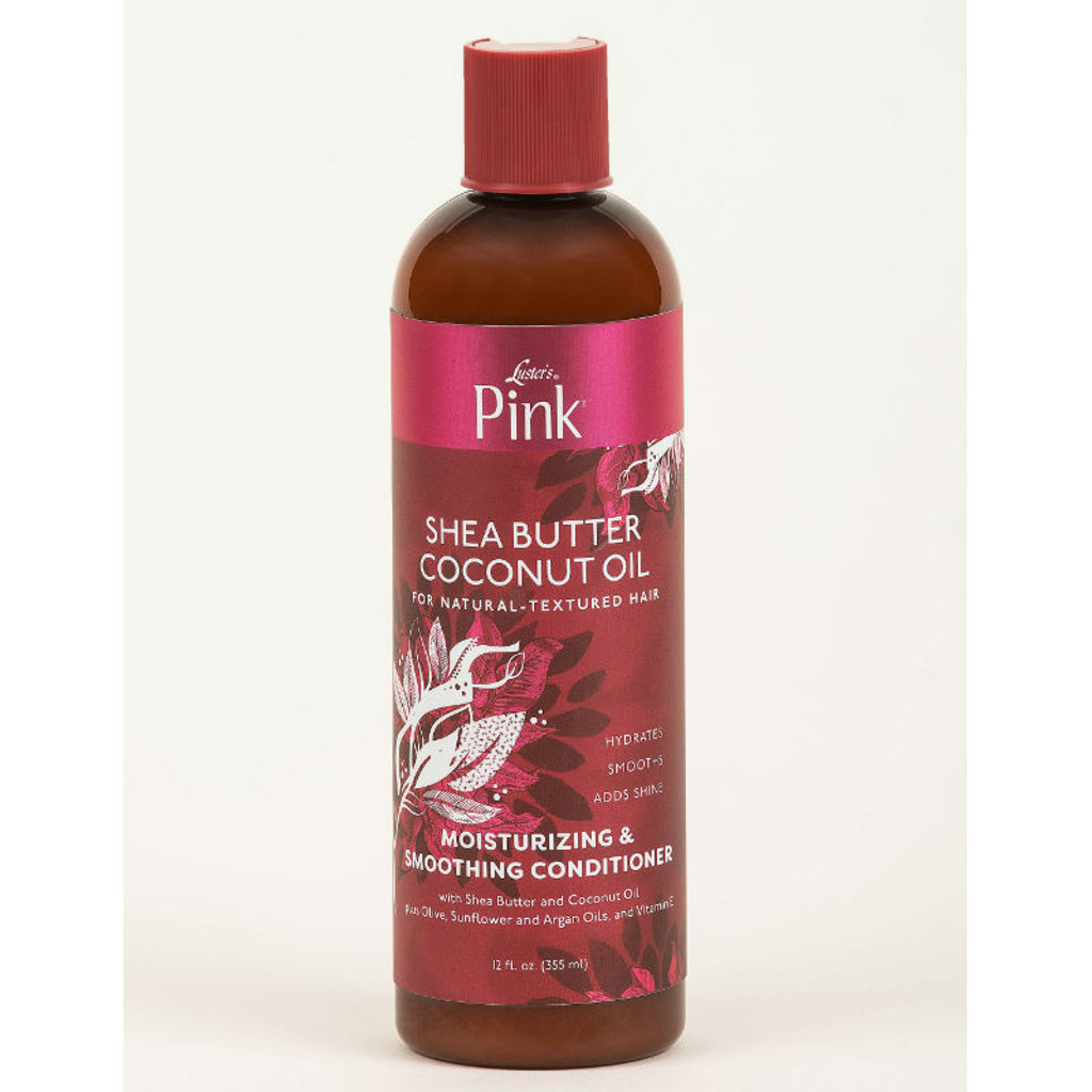 Luster's Pink Shea Butter Coconut Oil Moisturizing & Smoothing Conditioner (12 oz.)