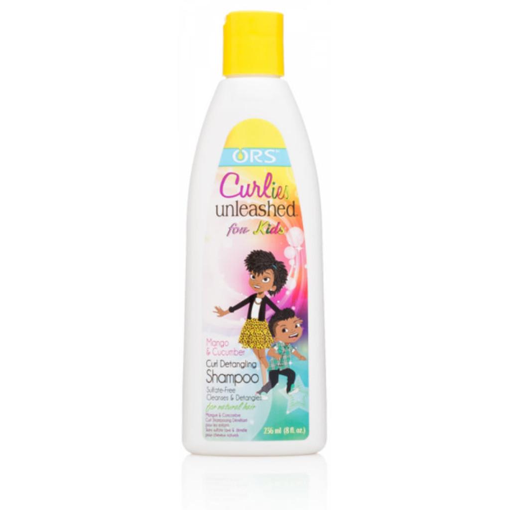 Curlies Unleashed for Kids Mango & Cucumber Curl Detangling Shampoo (8 oz.)