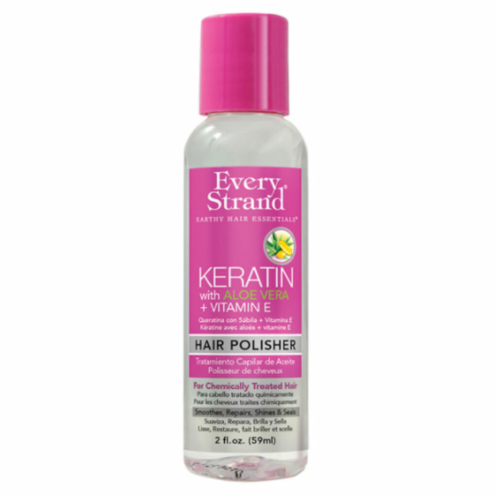 Every Strand Keratin with Aloe Vera + Vitamin E Hair Polisher (2 oz.)