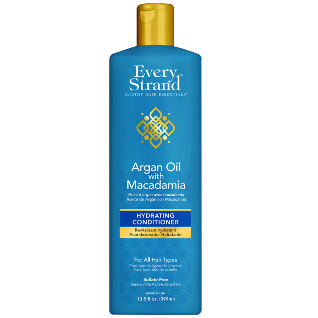 Every Strand Argan Oil with Macadamia Hydrating Conditioner (13.5 oz.)