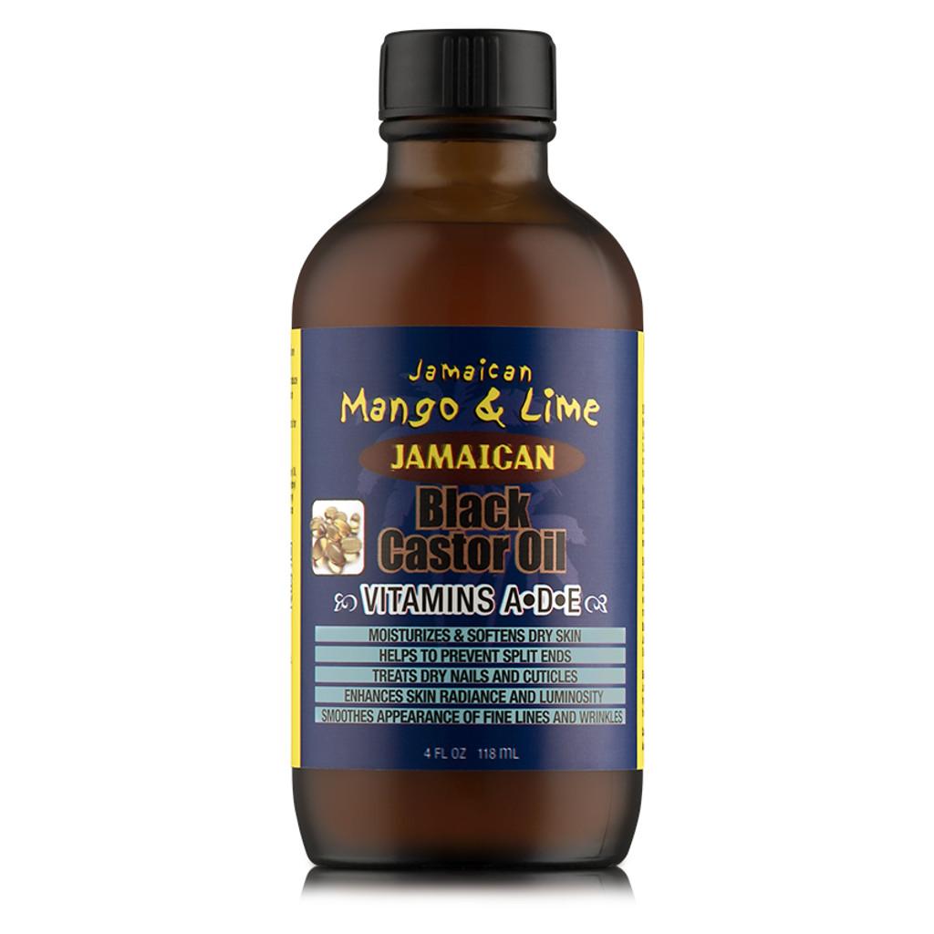 Jamaican Mango Lime Jamaican Black Castor Oil Vitamins A D E 4