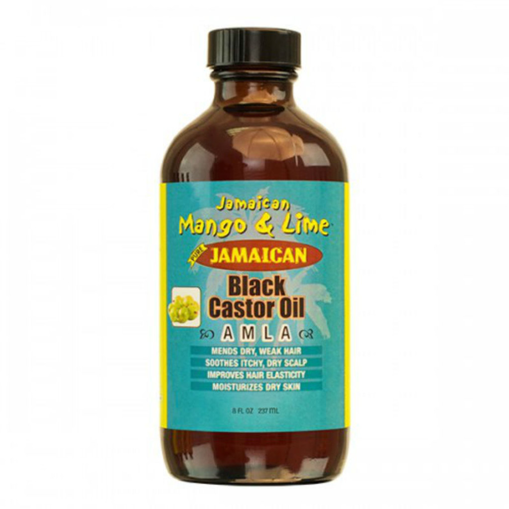 Jamaican Mango & Lime Jamaican Black Castor Oil Amla (8 oz.)