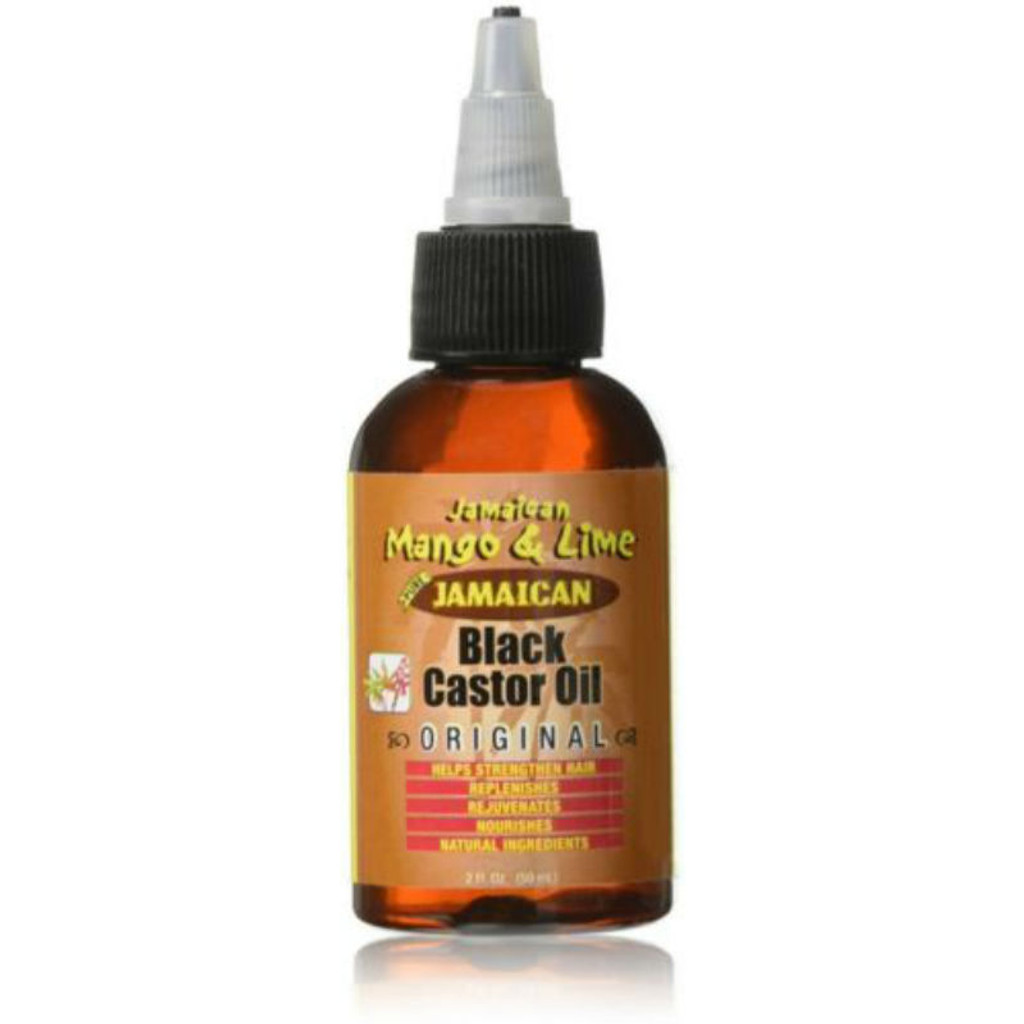 Jamaican Mango & Lime Jamaican Black Castor Oil Original (2 oz.)