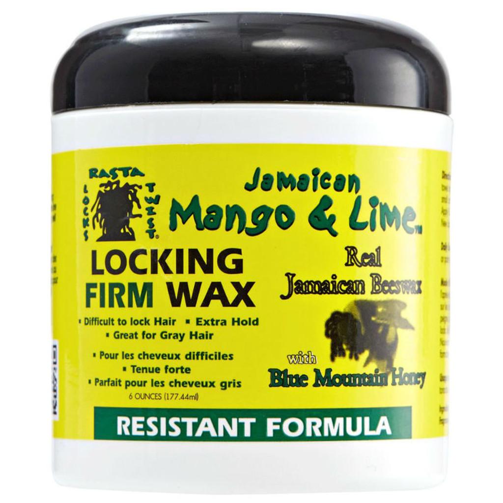 Jamaican Mango & Lime Locking Firm Wax - Resistant Formula (6 oz.)