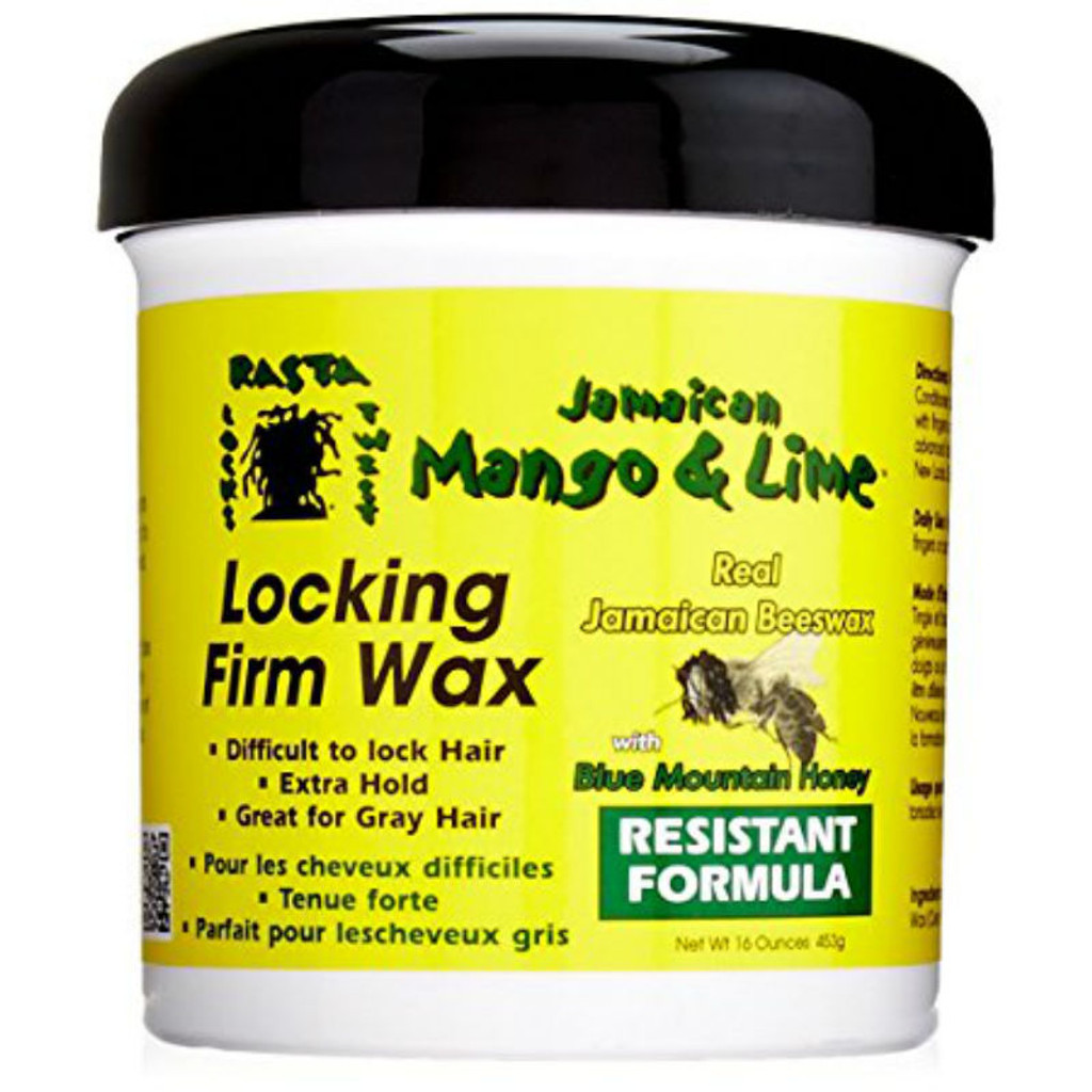 Jamaican Mango & Lime Locking Firm Wax - Resistant Formula (16 oz.)