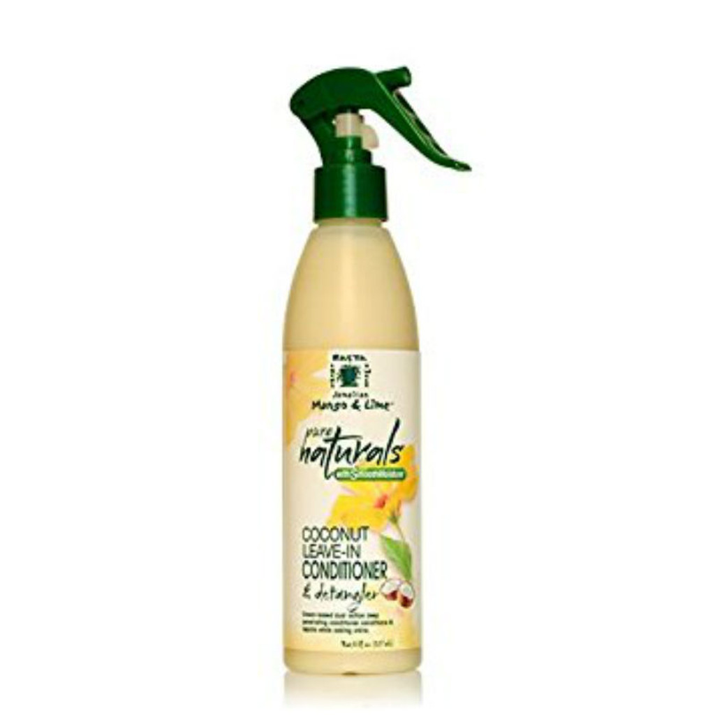 Jamaican Mango & Lime Pure Naturals Moisture Coconut Leave-In Conditioner & Detangler (8 oz.)