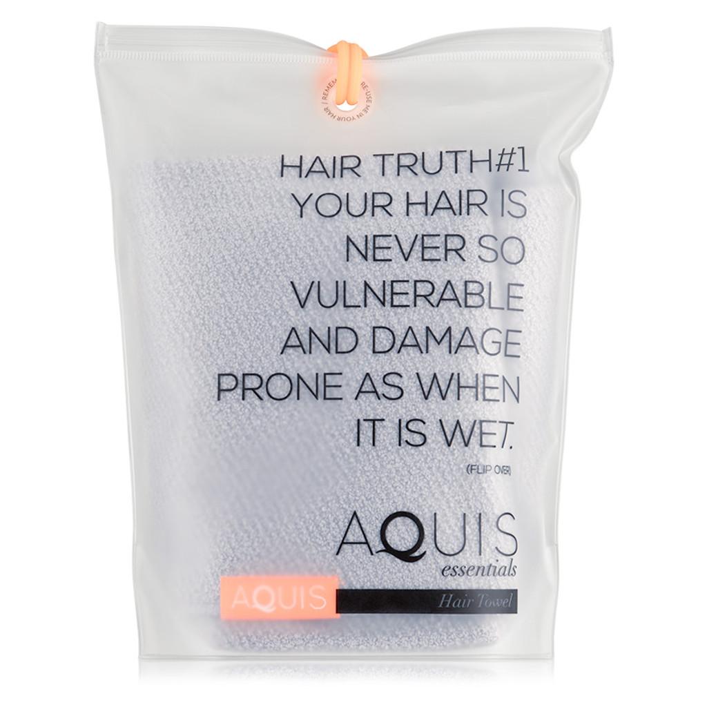 AQUIS Hair Towel Lisse Luxe - Cloud Berry