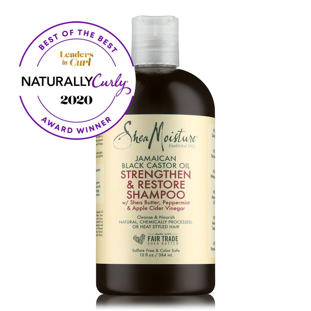 SheaMoisture Jamaican Black Castor Oil Strengthen & Restore Shampoo (13 oz.)