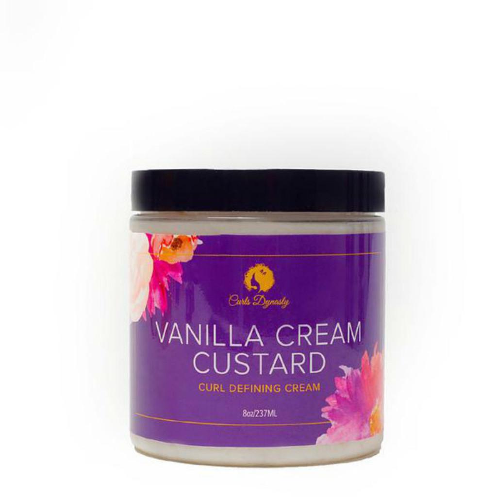 Curls Dynasty Vanilla Cream Custard Curl Defining Cream (8 oz.)