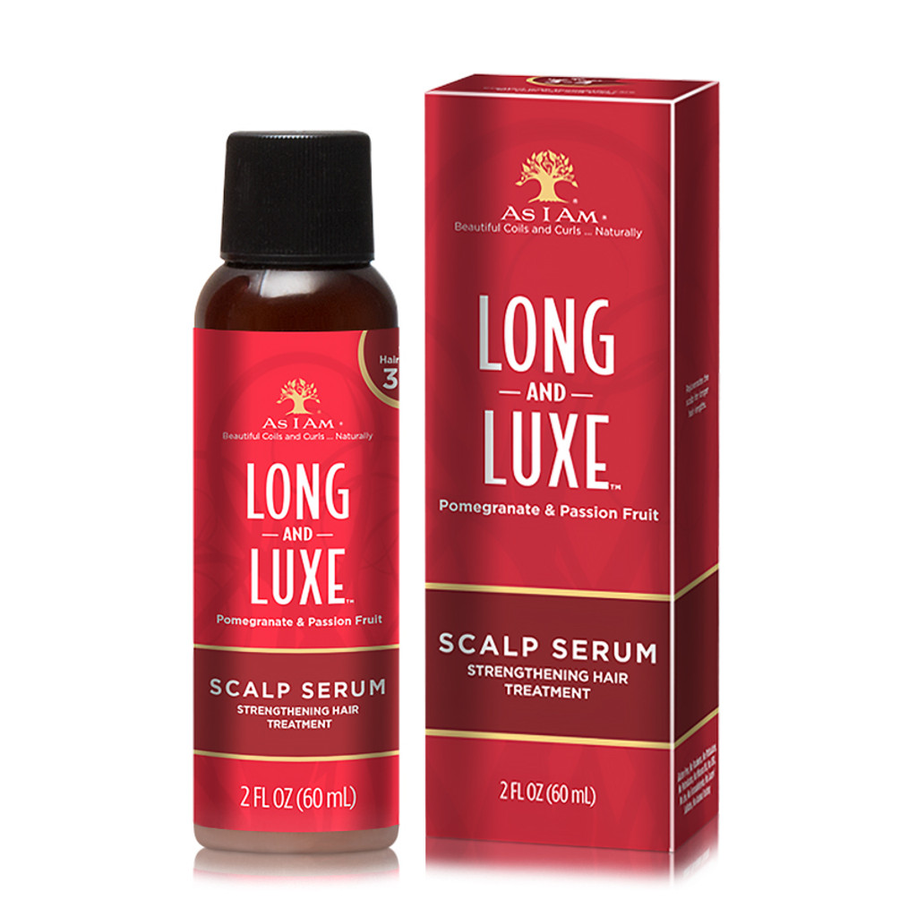 As I Am Long and Luxe Scalp Serum Strengthening Hair Treatment (2 oz.)