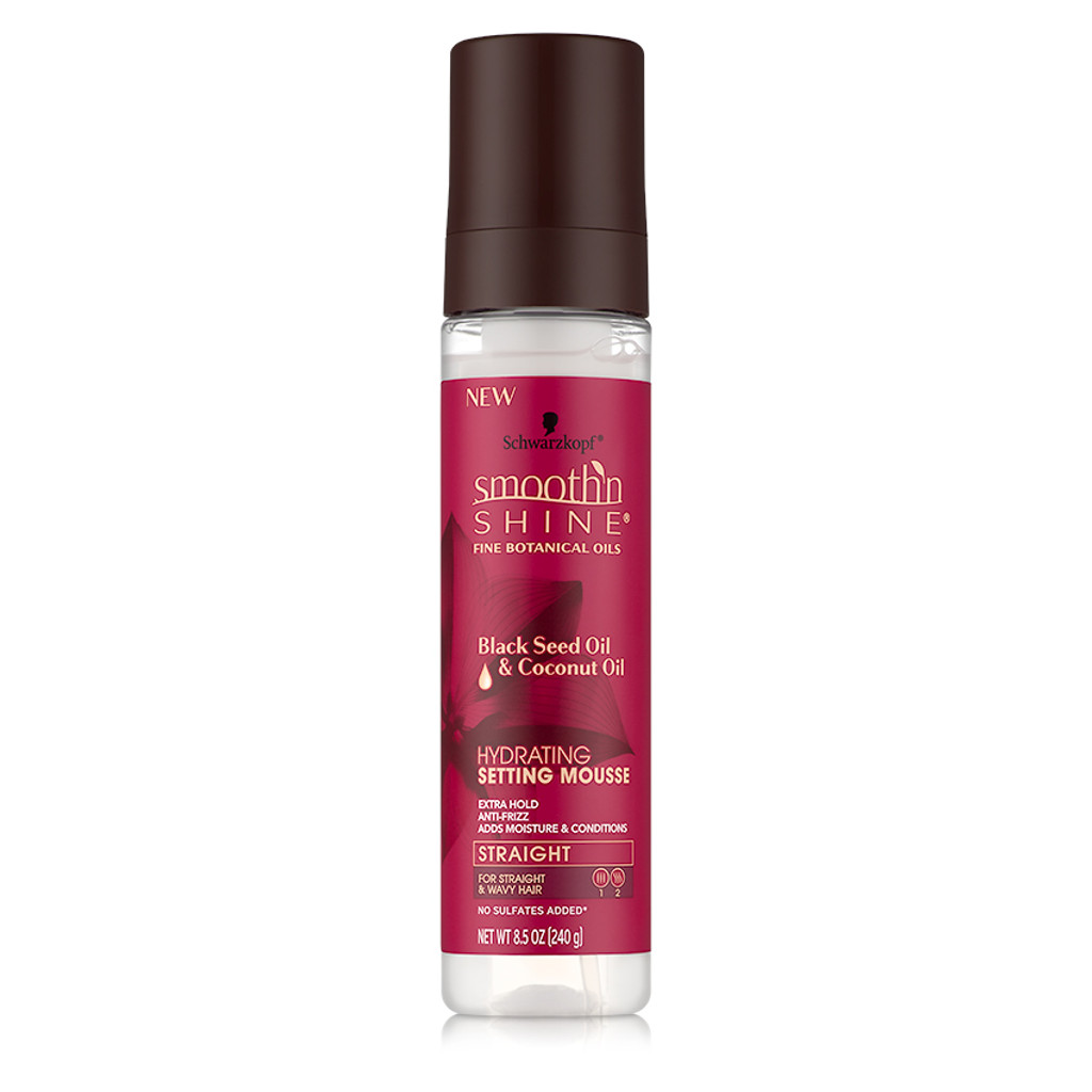 Smooth 'n Shine Straight Hydrating Setting Mousse (8.5 oz.)