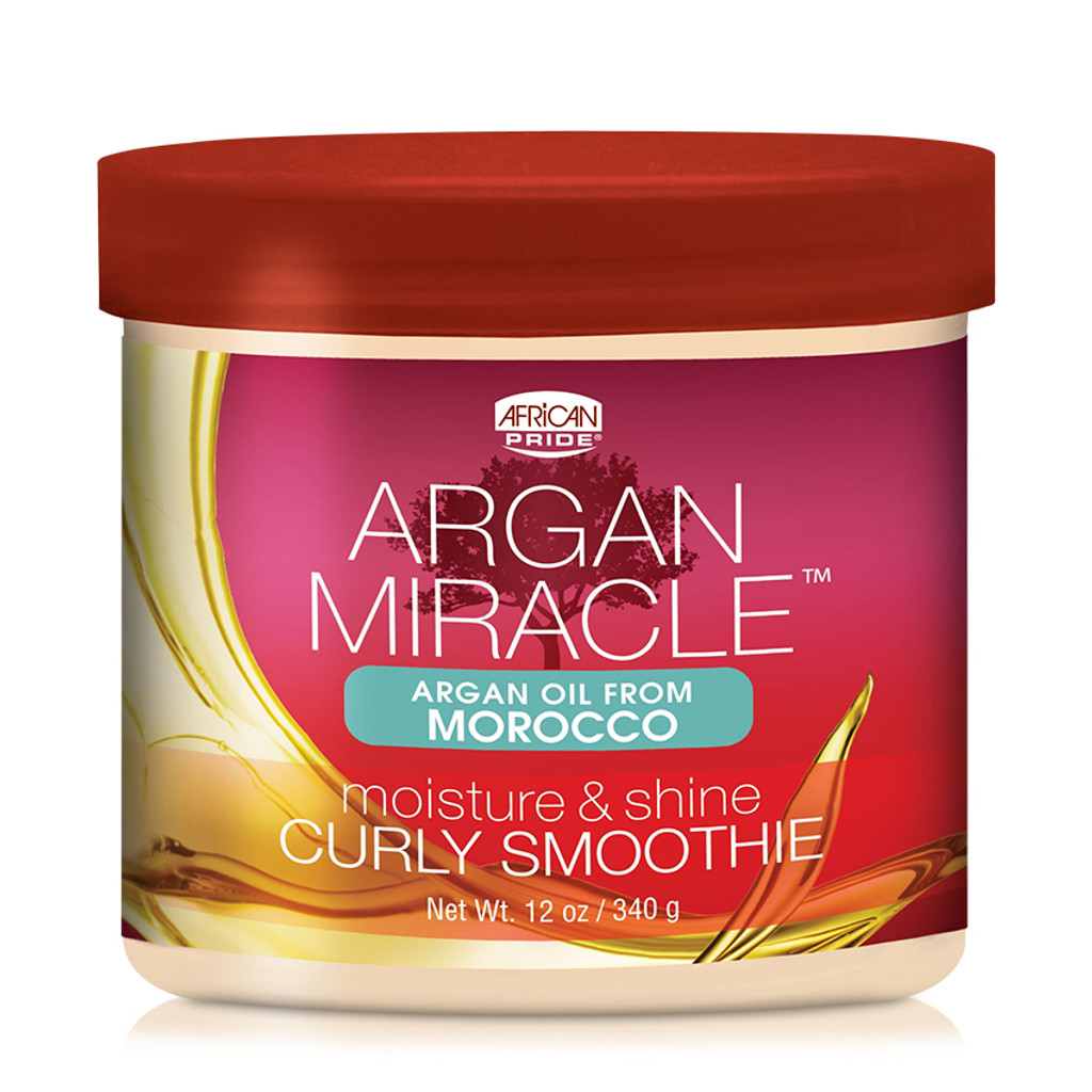African Pride Argan Miracle Moisture & Shine Curly Smoothie (12 oz.)