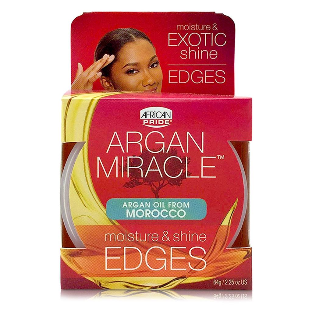 African Pride Argan Miracle Moisture & Shine Edges (2.25 oz.)
