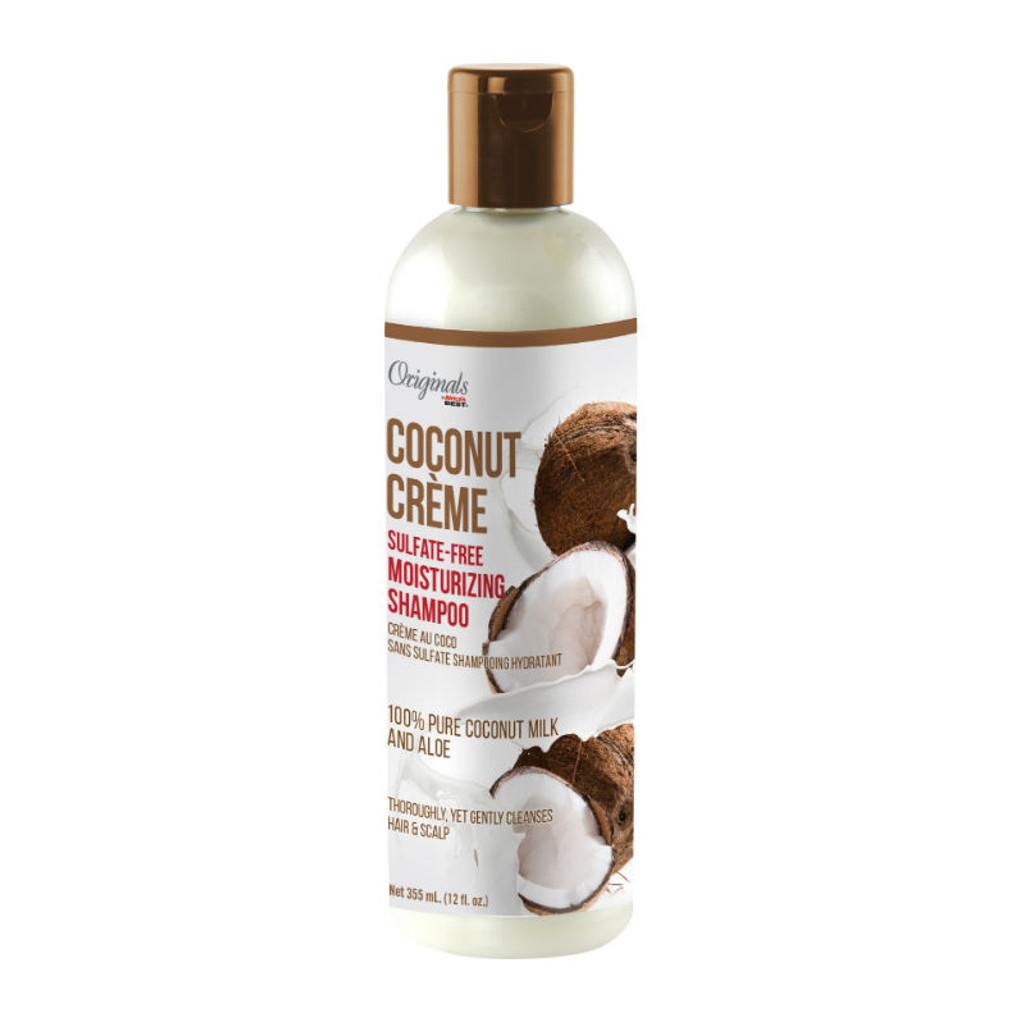 Originals by Africa's Best Coconut Creme Sulfate-free Moisturizing Shampoo (12 oz.)