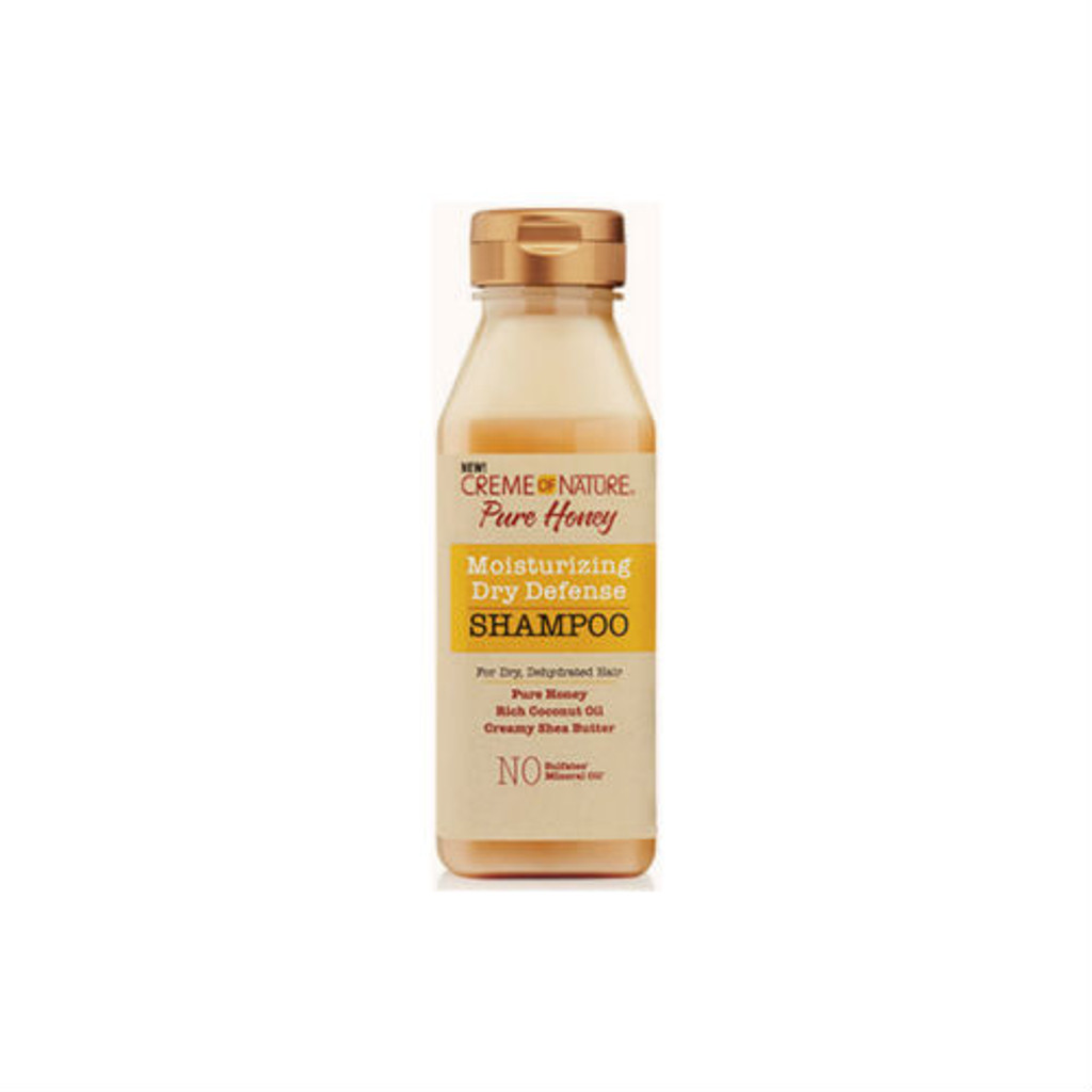 Creme of Nature Pure Honey Moisturizing Dry Defense Shampoo (12 oz.)
