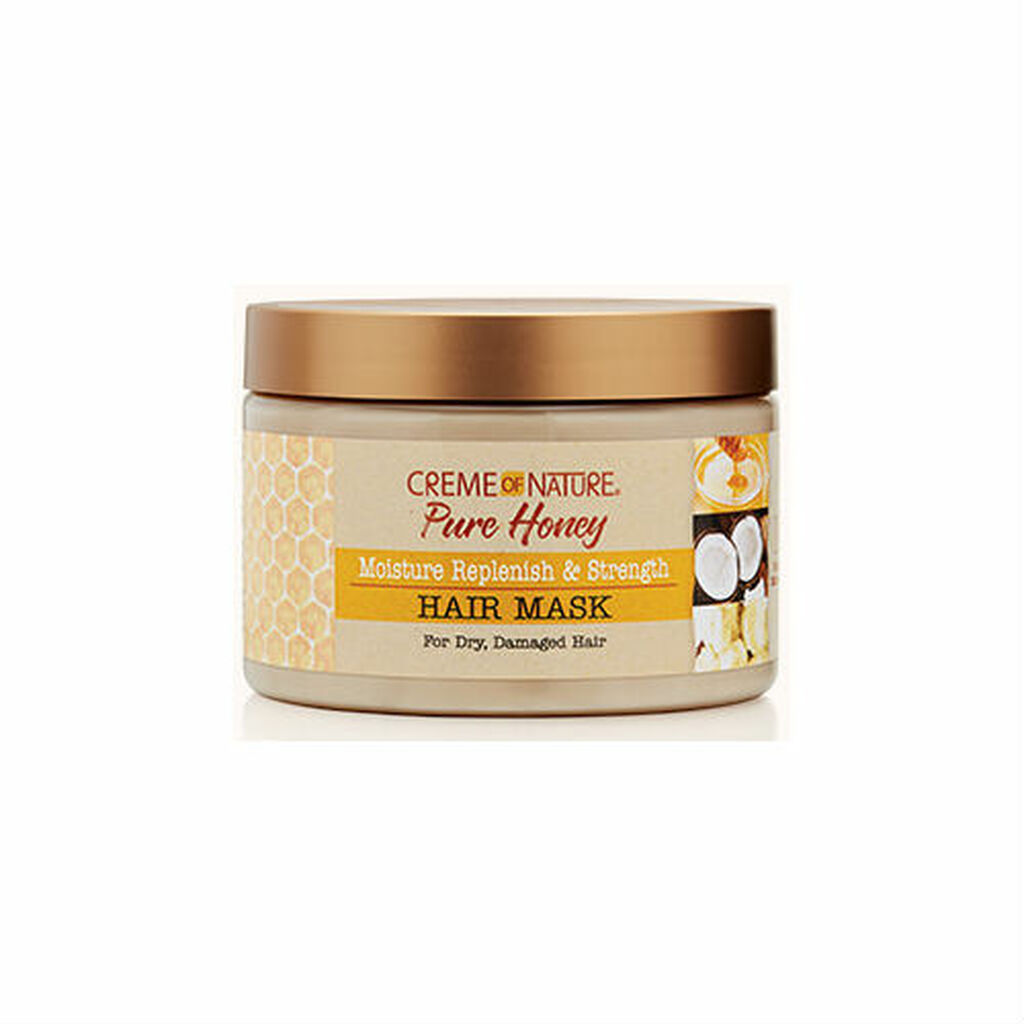 Creme of Nature Pure Honey Moisture Replenish & Strength Hair Mask (11.5oz)