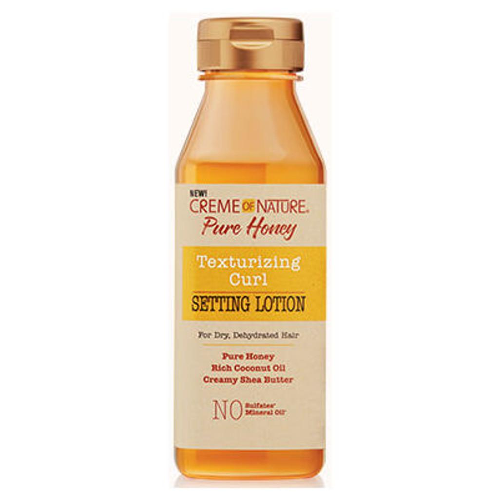 Creme of Nature Pure Honey Texturizing Curl Setting Lotion (12 oz.)