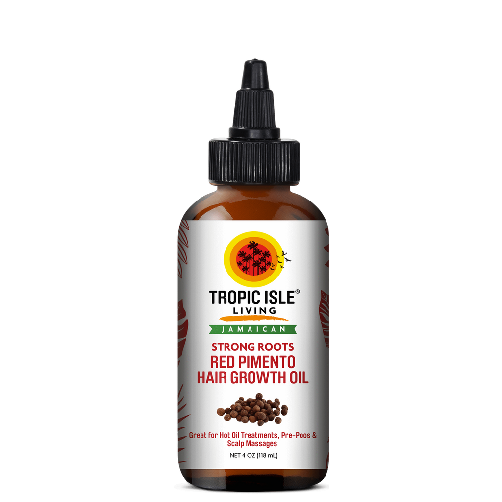 Tropic Isle Living Jamaican Strong Roots Red Pimento Hair Growth Oil (4 fl. oz.)