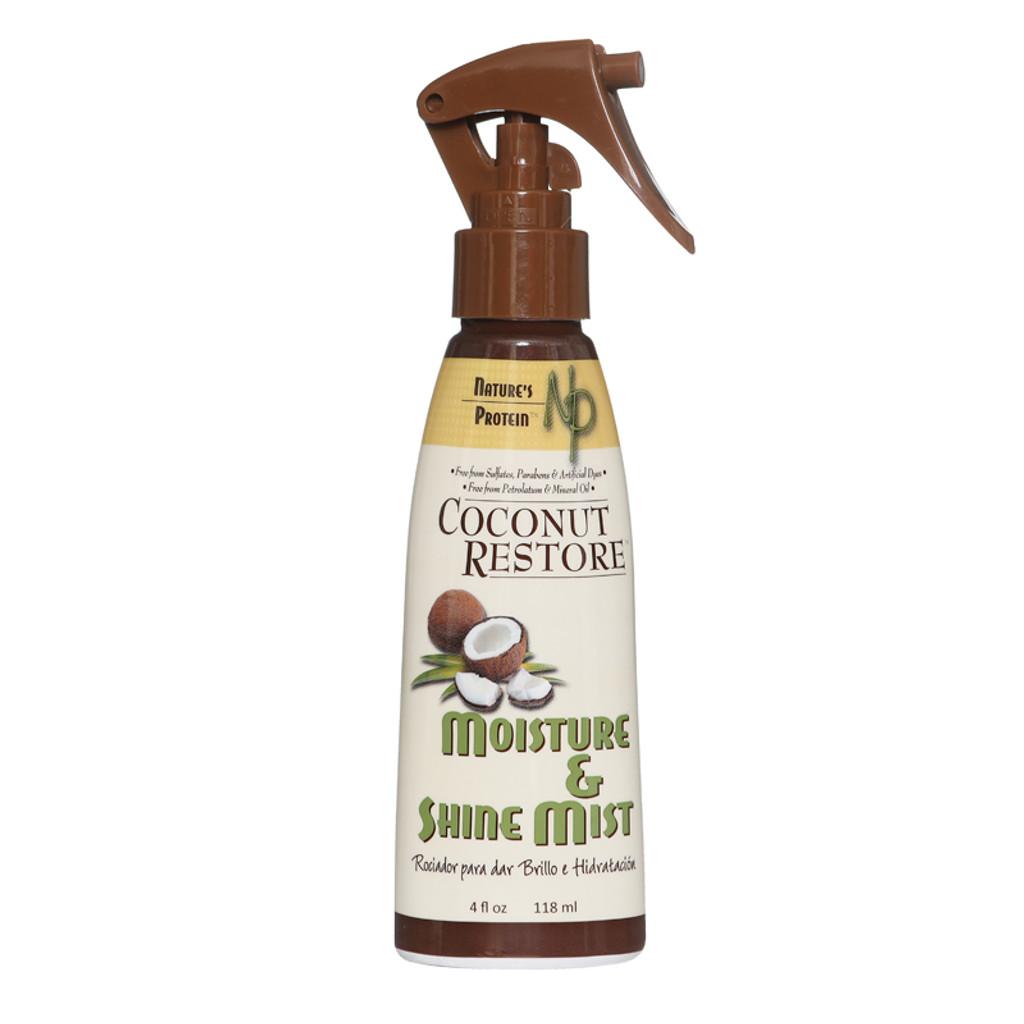 Coconut Restore Moisture and Shine Mist (4 oz.)