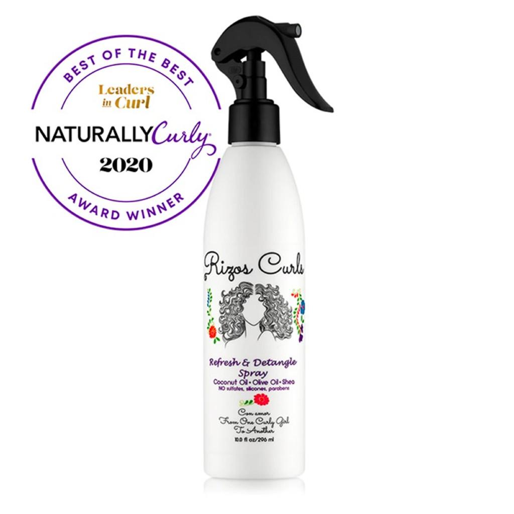 Rizos Curls Refresh & Detangle Spray (10 oz)