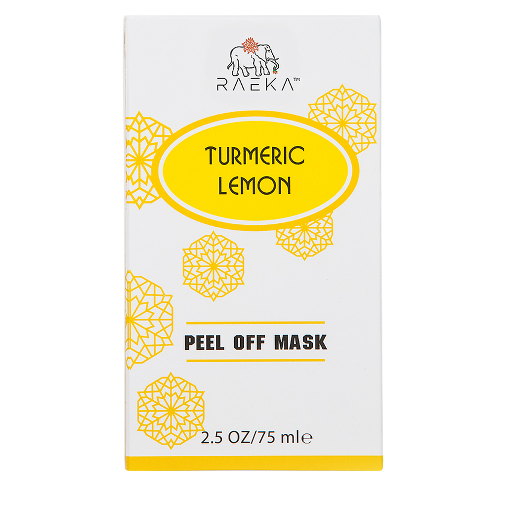Raeka Beauty Turmeric Lemon Peel-Off Mask (2.5 oz)