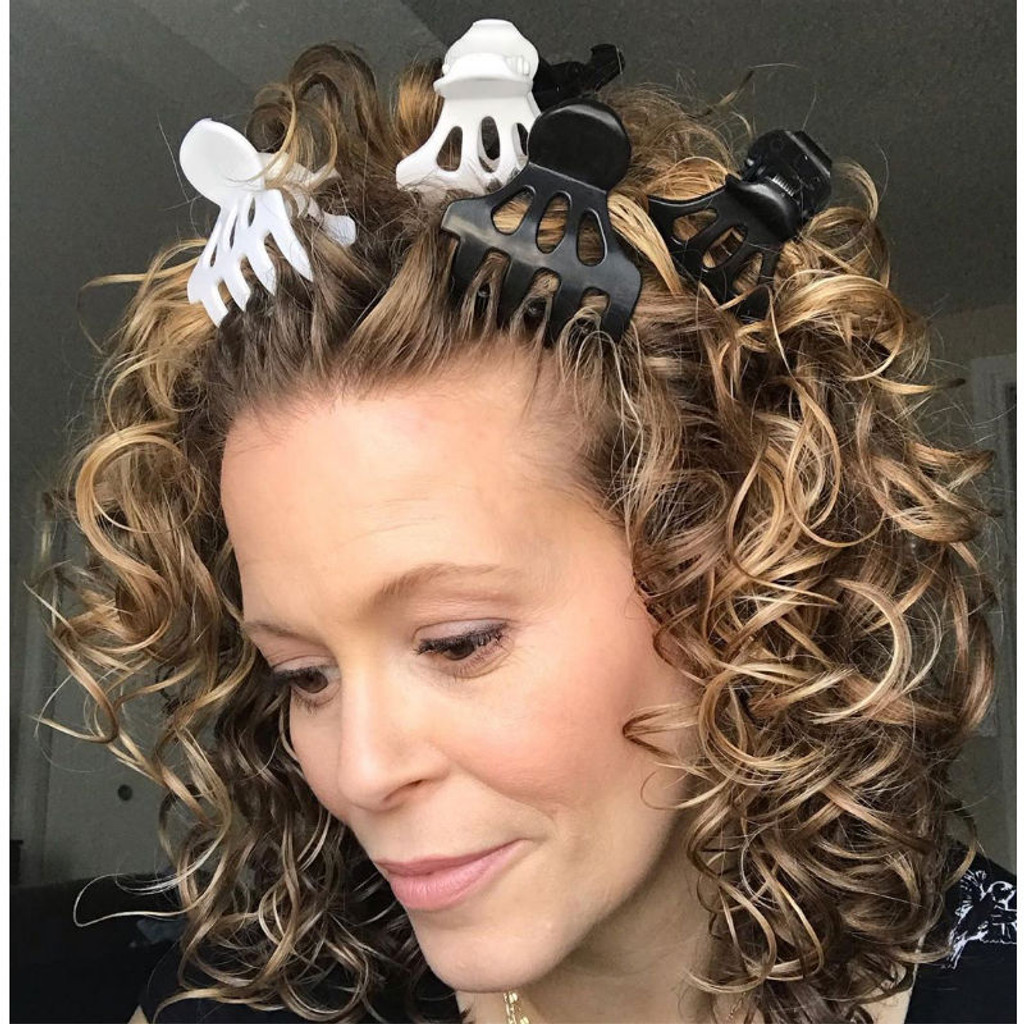 Curly Hair Solutions Roller Jaw Clamps (12 pack)