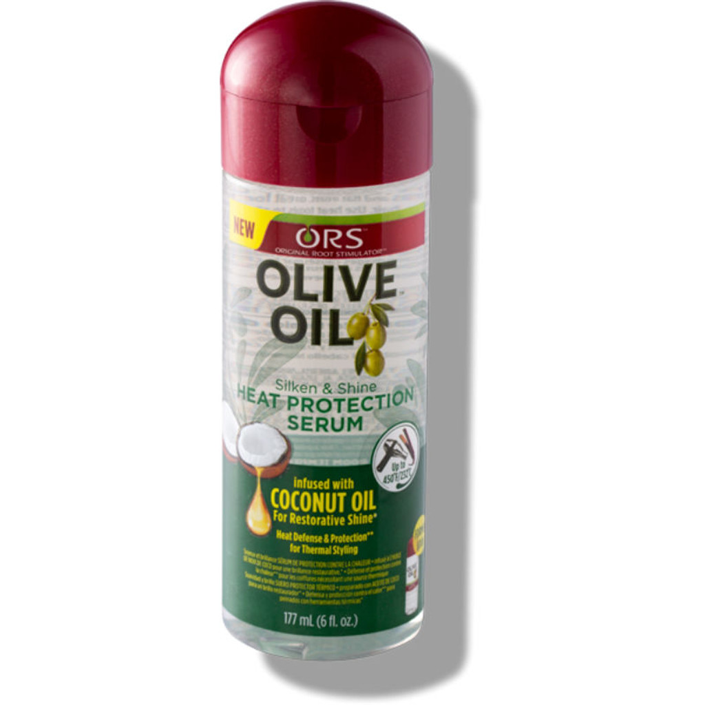 ORS Olive Oil Silken & Shine Heat Protection Serum (6 oz.)