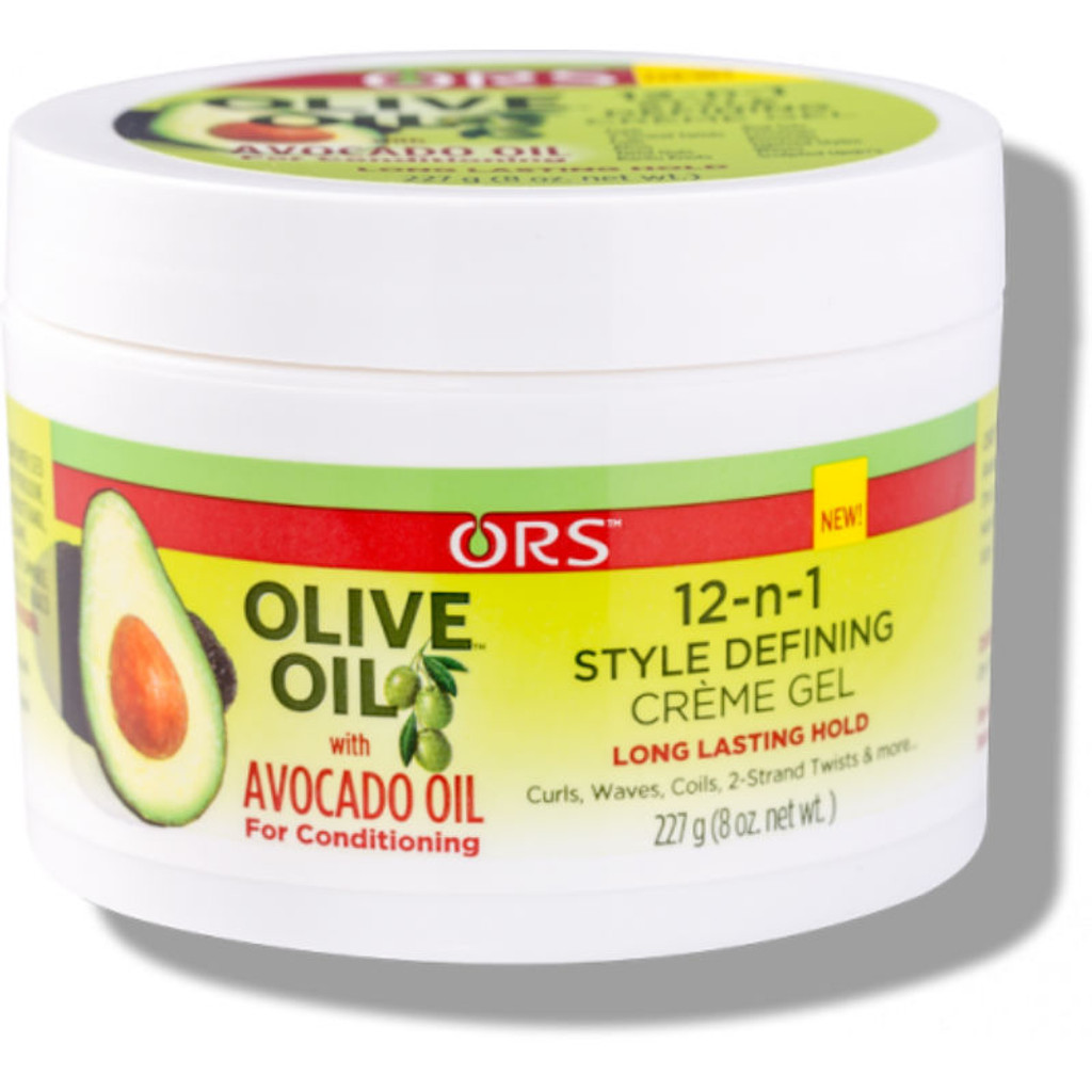 ORS Olive Oil with Avocado Oil 12-n-1 Style Defining Creme Gel (8 oz.)