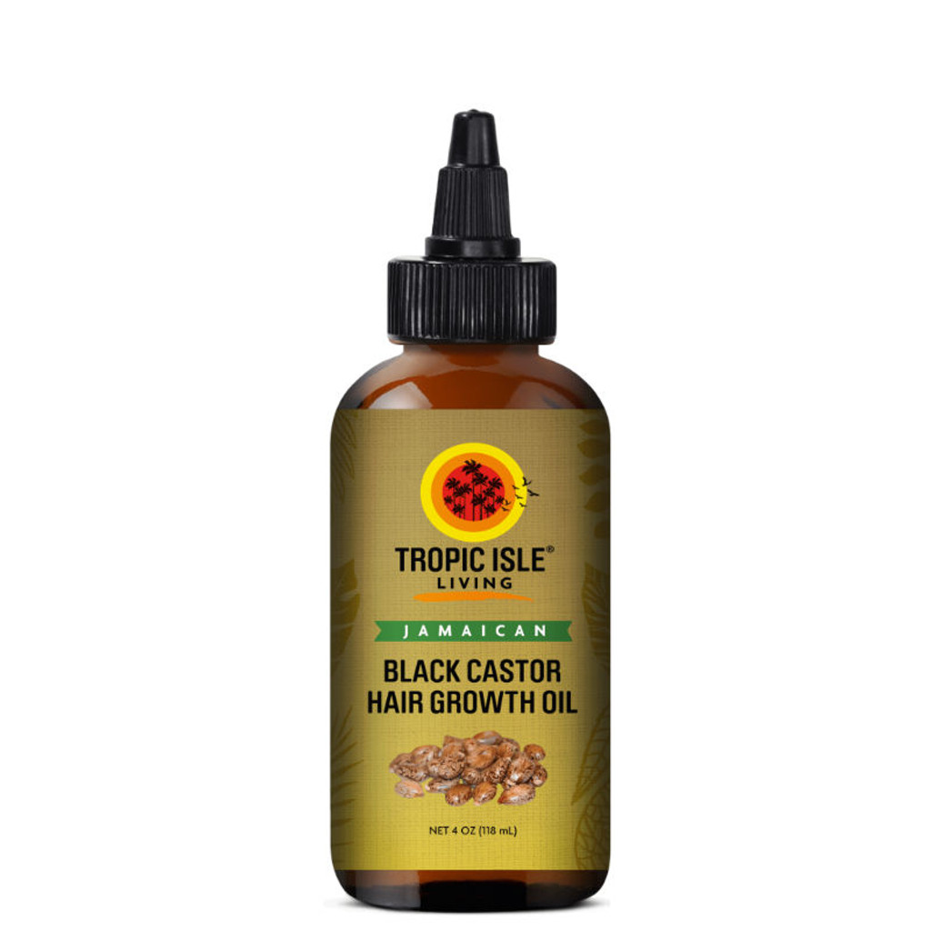 Tropic Isle Living Jamaican Black Castor Hair Growth Oil (4 oz.)