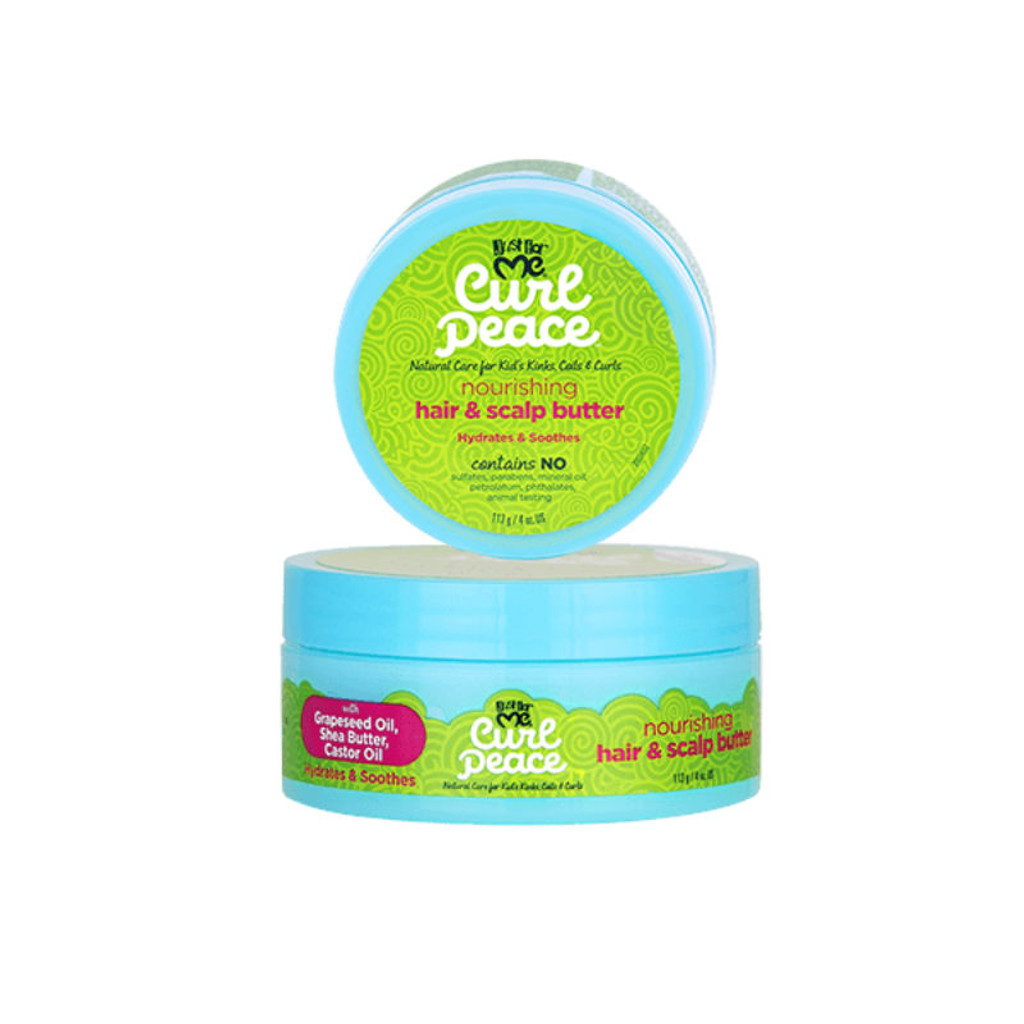 Just For Me Curl Peace Nourishing Hair & Scalp Butter (4 oz.)