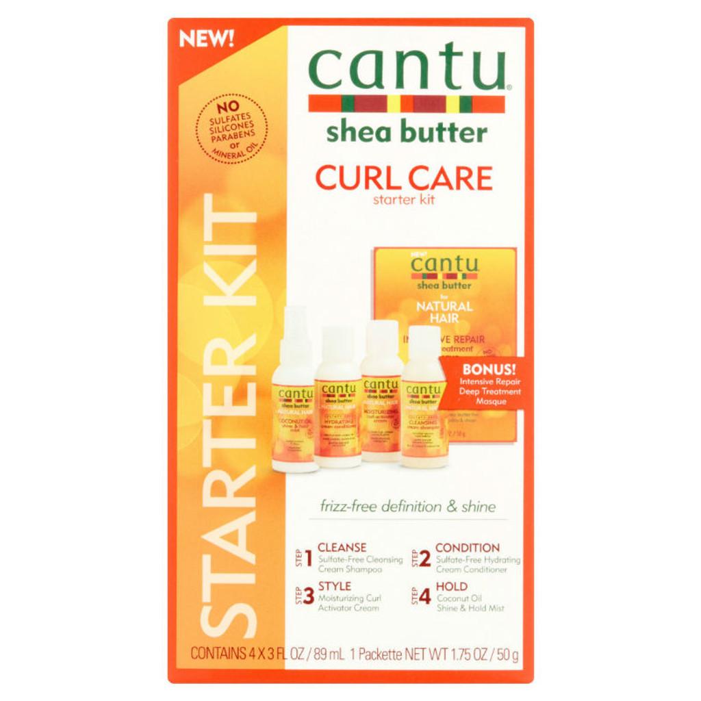 Cantu Shea Butter Curl Care Starter Kit (4 pc.)