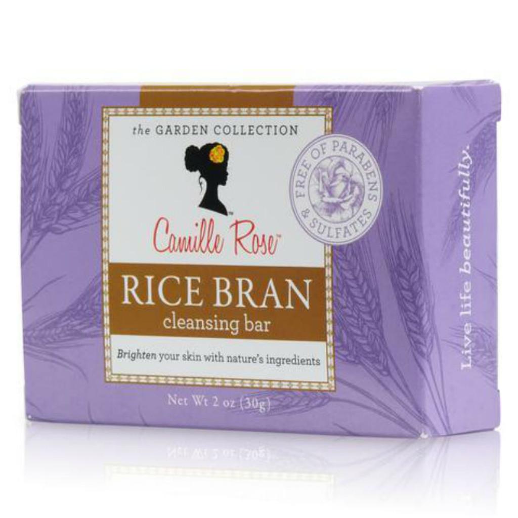 Camille Rose Naturals Rice Bran Cleansing Bar (2 oz.)