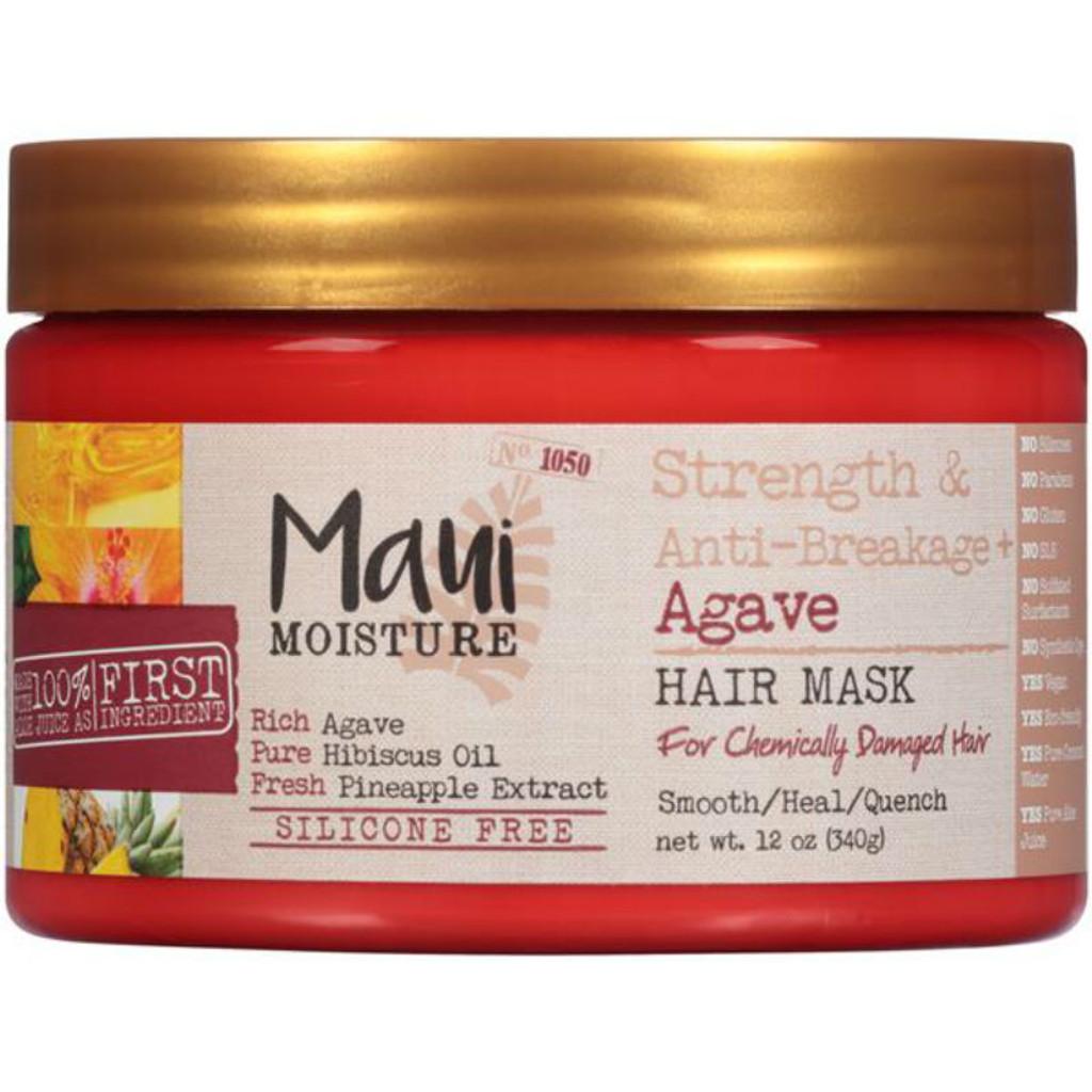 Maui Moisture Strength & Anti-Breakage + Agave Hair Mask (12 oz.)