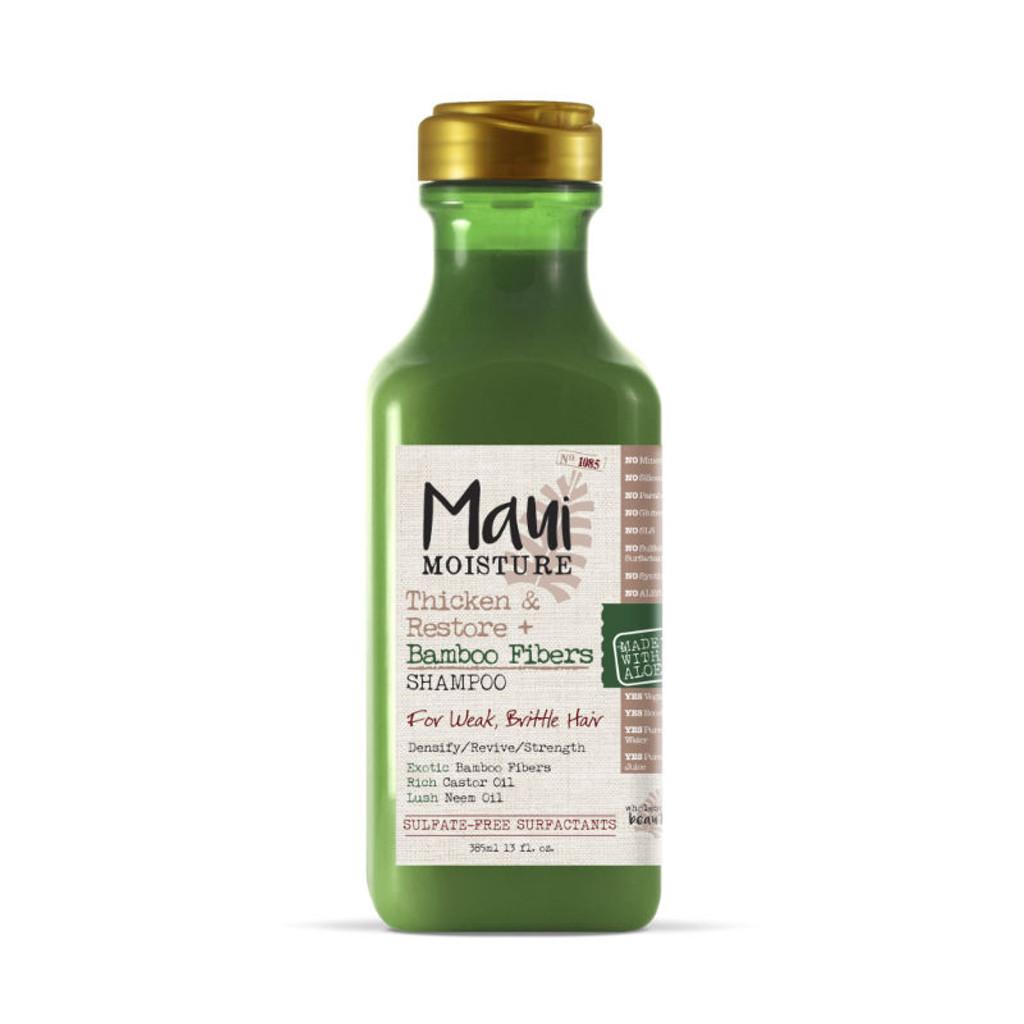 Maui Moisture Thicken & Restore + Bamboo Fibers Shampoo (13 oz.)