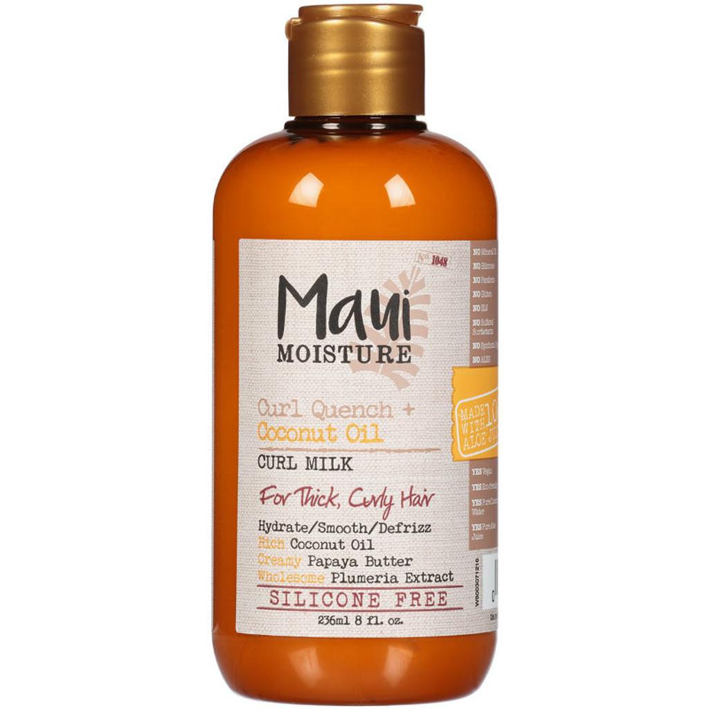 Maui Moisture Curl Quench + Coconut Oil Curl Milk (8 oz.)
