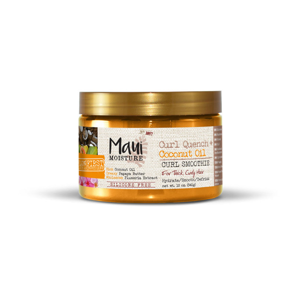 Maui Moisture Curl Quench + Coconut Oil Curl Smoothie (12 oz.)