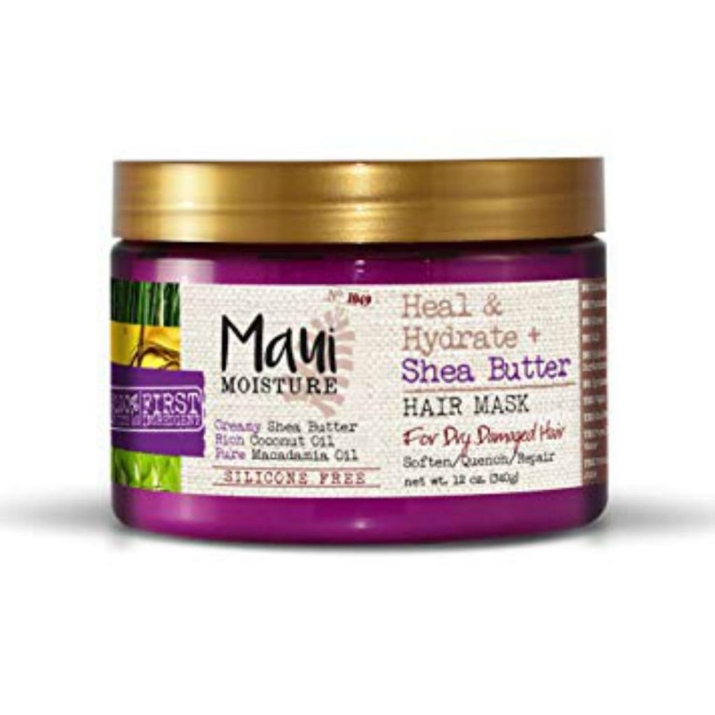 Maui Moisture Heal & Hydrate + Shea Butter Hair Mask (13 oz.)