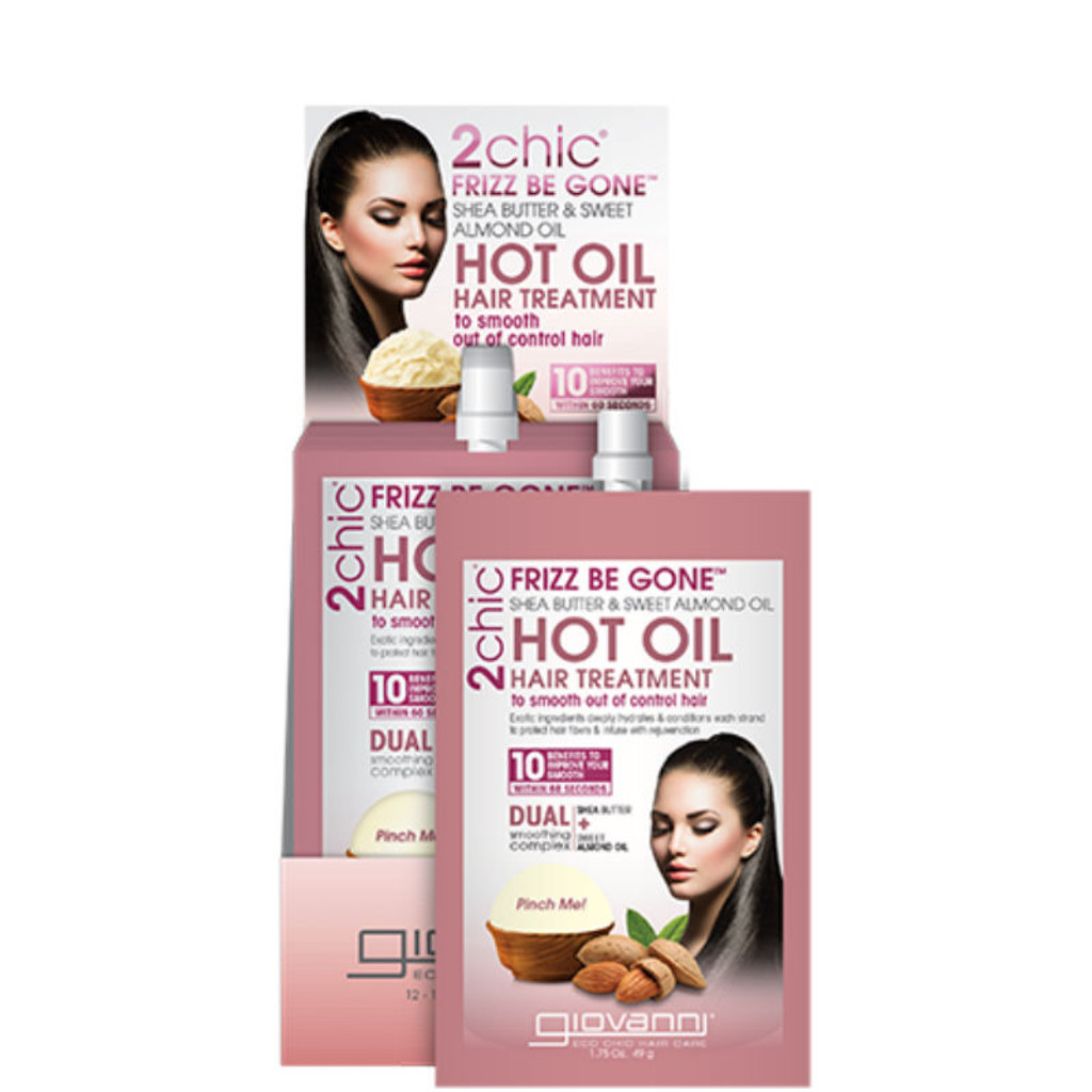 Giovanni Cosmetics 2chic® Frizz Be Gone™ Hot Oil Hair Treatment (1.75 oz.)