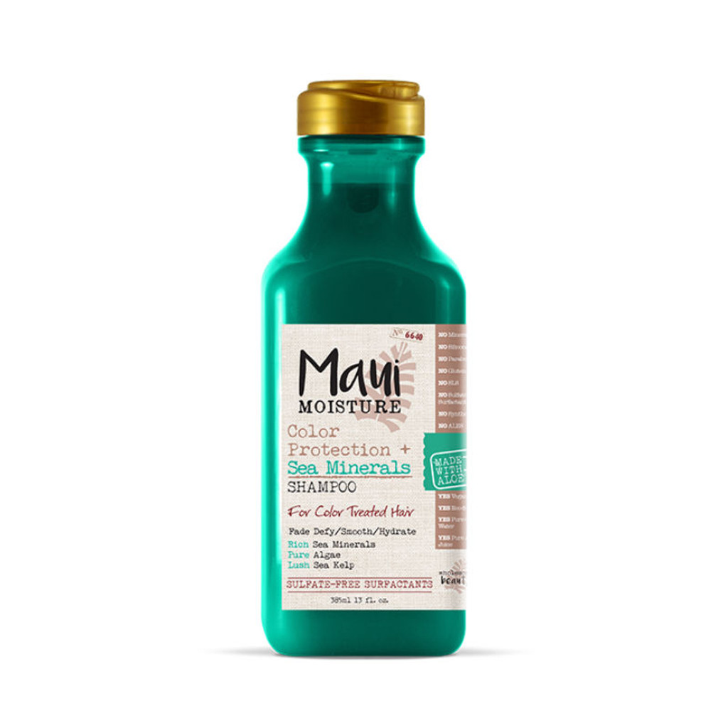 Maui Moisture Color Protection + Sea Minerals Shampoo (13 oz.)