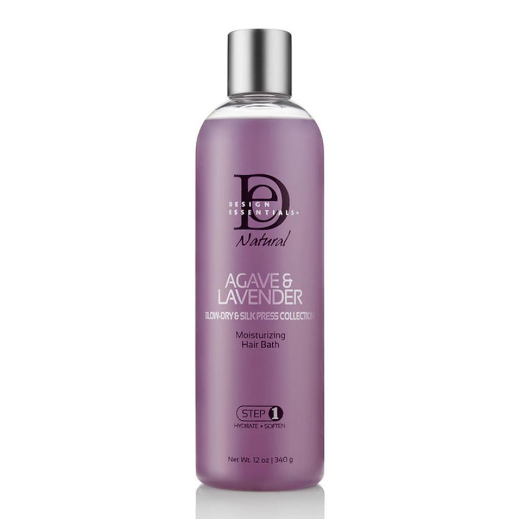 Design Essentials Agave & Lavender Moisturizing Hair Bath (12 oz.)