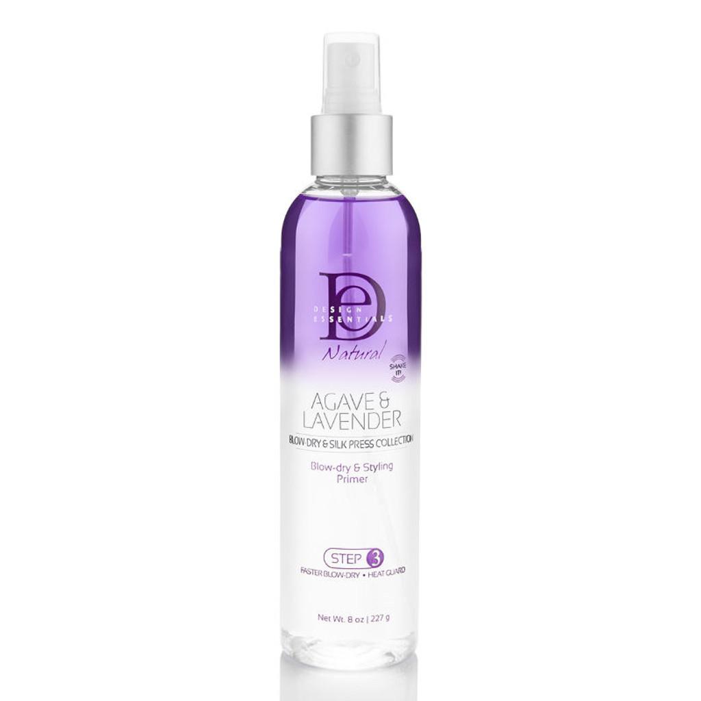 Design Essentials Agave & Lavender Moisturizing Blow-Dry & Style Primer (8 oz.)
