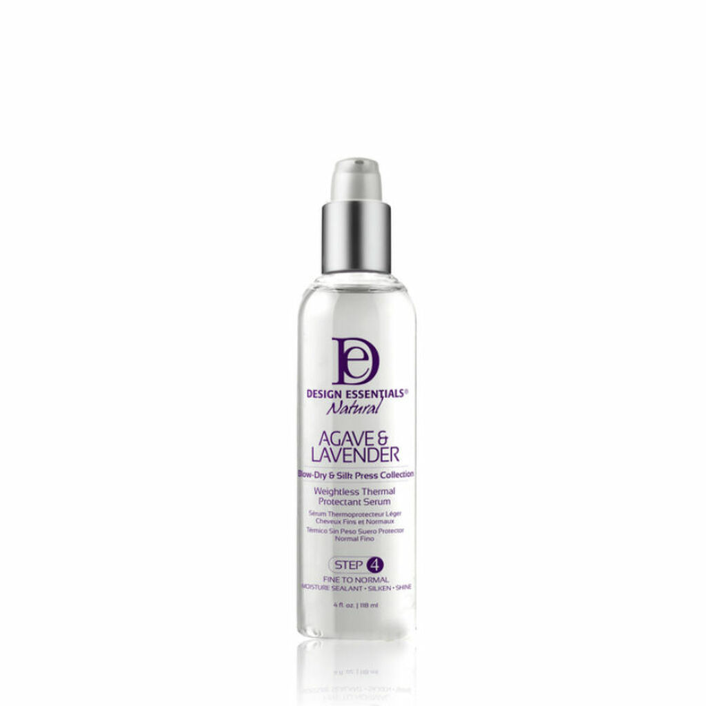 Design Essentials Agave & Lavender Weightless Thermal Protectant Serum (4 oz.)