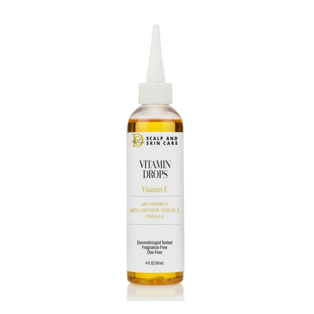 Design Essentials Scalp & Skin Care Vitamin Drops with Vitamin E (4 oz.)